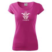Egyedi szűr mintás női póló