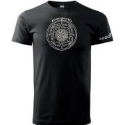 Fekete színű póló magyar motívummal