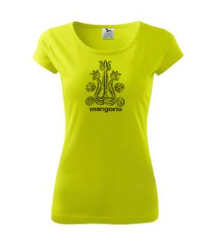 Magyar népi mintás női póló