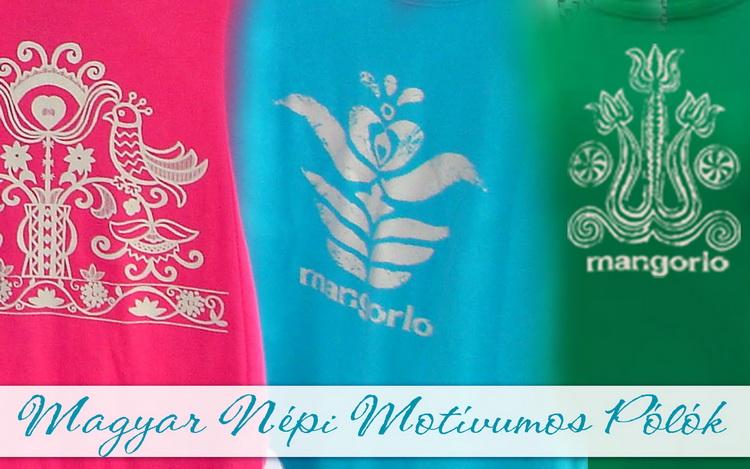 Magyar mintával szitanyomott női pólók