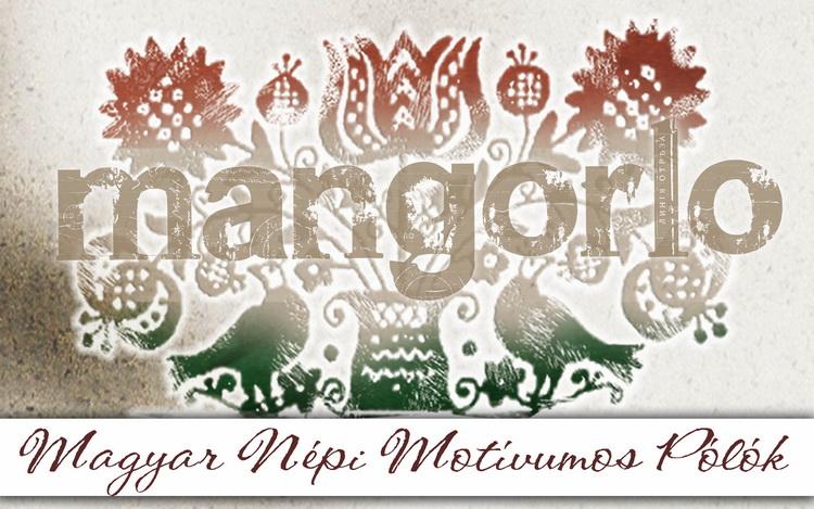 Mangorlo márkájú motívumos pólók