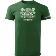 Magyar motívumos zöld színű póló